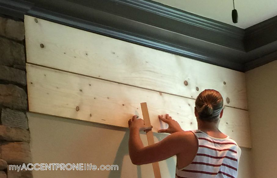 How To Install Your Own Diy Plank Wall Myaccentpronelife Com